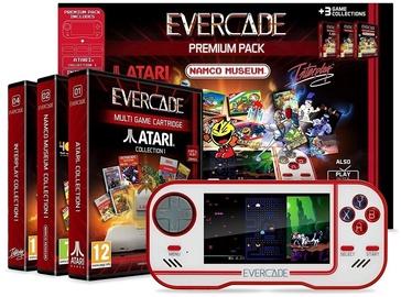 Evercade Retro Games Console Premium Pack