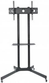 Techly Mobile Stand For TV LCD/LED/Plasma 30''-65'' Black