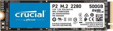 Crucial P2 500GB M.2 NVMe