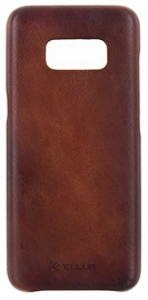 Tellur Leather Back Case For Samsung Galaxy S8 Brown