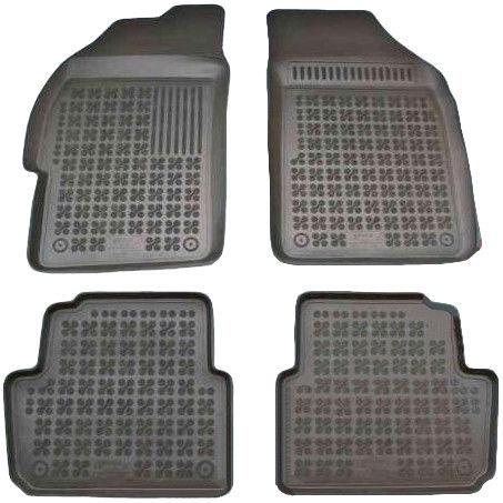 REZAW-PLAST Chevrolet Spark II 2010-2013 Pre-Facelifting Rubber Floor Mats