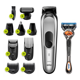 Braun All-in-one Trimmer MGK7220 Black/Silver