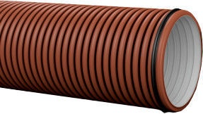 Pipelife Pragma Pipe Brown D300 6m
