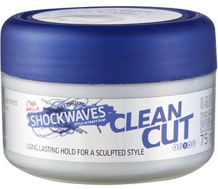Wella Shockwaves Clean Cut Styling Wax 75ml