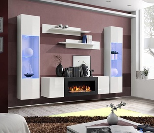 ASM Fly M3 Living Room Wall Unit Set White
