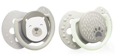 Lovi Dynamic Soother Silicone 2pcs Buddy Bear 22/865 6-18m