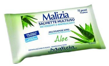 Malizia Multifunctional Wet Wipes 72pcs