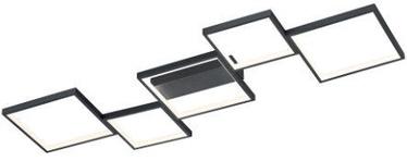 Trio Sorrento Ceiling Lamp Black 1200mm
