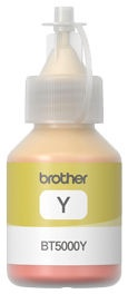 Brother BT5000Y Ink Bottle Yellow