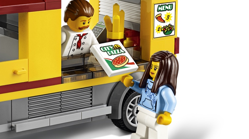 Конструктор LEGO City Pizza Van 60150