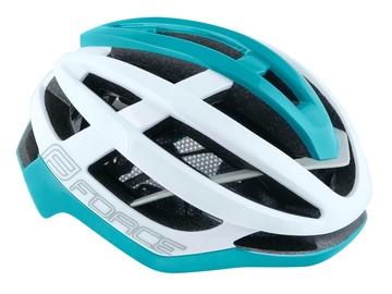 Force Lynx Helmet White/Turquoise S/M