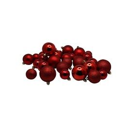 Jõulupuu ehe Christmas Touch N4/LX30BALL Red, 30 tk