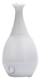 Ultrasonic Humidifier And Night Lamp 2in1 White