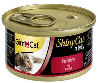 Gimborn ShinyCat Wet Food w/ Chicken In Jelly 70g