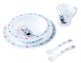 Canpol Babies Plastic Ware Set Cute Animals 4/401 Dog