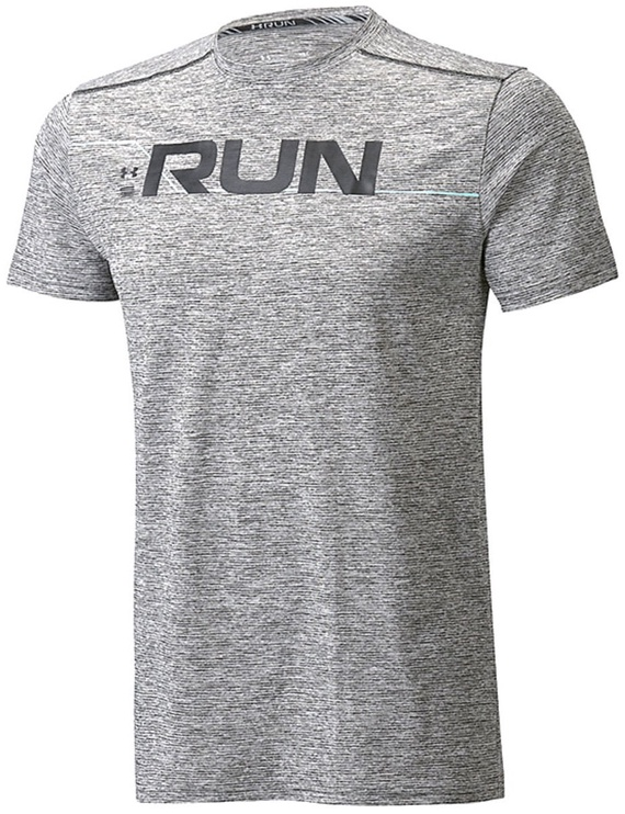 Under Armour T-Shirt Graphic SS 1316844-001 Gray XL