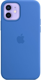 Apple iPhone 12/12 Pro Silicone Case with MagSafe Capri Blue
