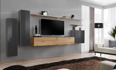 ASM Switch I Wall Unit Wotan Oak/Graphite
