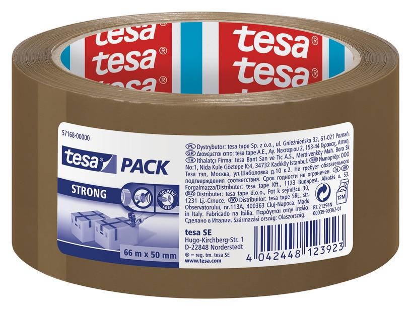 Tesa Strong Packaging Tape 66m Brown