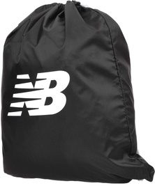 New Balance Logo Drawstring Backpack LAB91039BK Black