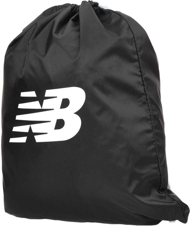 New Balance Logo Drawstring Backpack LAB91039BK Black