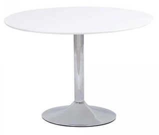 Обеденный стол Signal Meble Flavio White, 900x900x750 мм