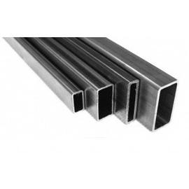 Aluminium Rectangular Pipes Gray 30x20mm 2m