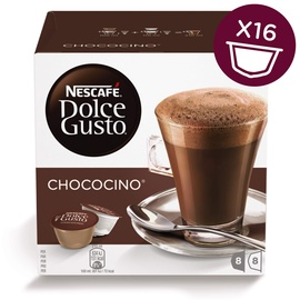 Šokolaadijook kapslid Nescafe Dolce Gusto Chococino, 256 g., 16 tk.