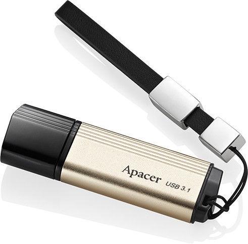 USB mälupulk Apacer AH353 Gold, USB 2.0, 32 GB