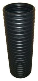 Magnaplast Grooved Drain Pipe Black 300mm 1m