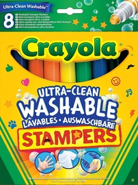 Crayola Ultra Clean Marker Stampers 8pcs