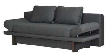 Диван-кровать Bodzio Magrina S2 Graphite, 200 x 88 x 71 см