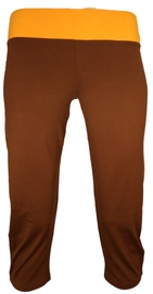 Bars Womens Trousers Brown/Yellow 136 M