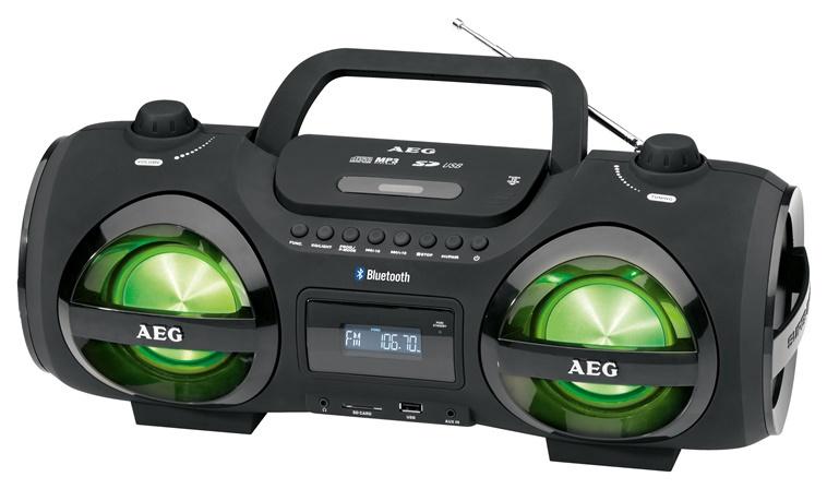 AEG SR 4359 Soundbox Black