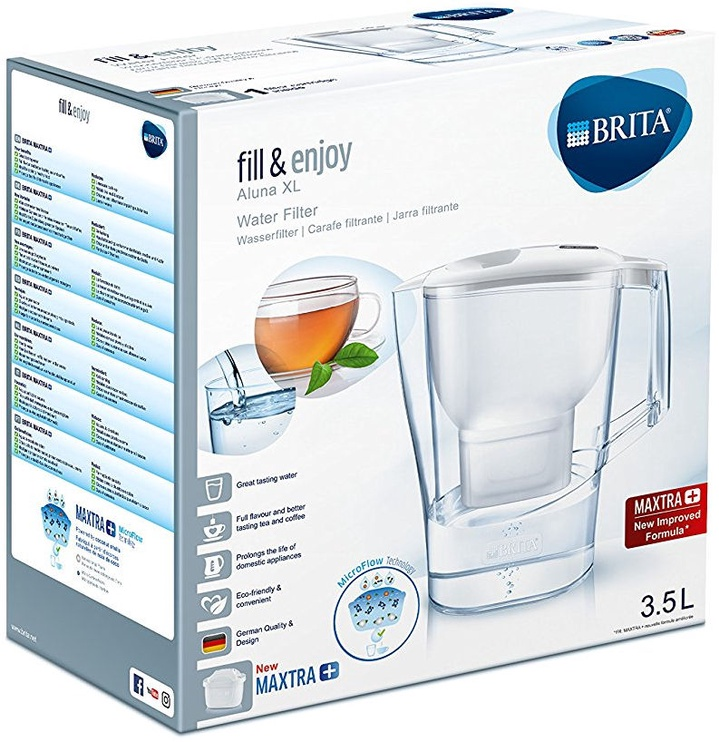 Brita Fill&Enjoy Aluna XL 3.5L Maxtra+ White