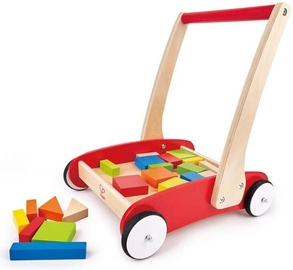 Hape Trolley With Blocks 8259