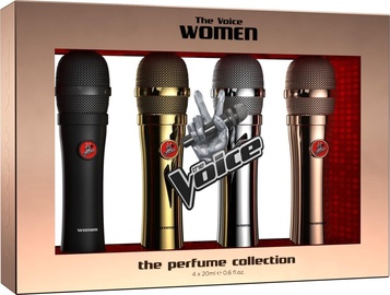Набор для женщин The Voice Classic Women 4pcs Set 80ml EDT