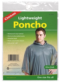 Coghlans Lightveight Poncho Olive
