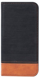 Blun Soft Touch Book Case For Huawei P9 Lite Mini Black