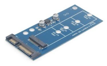 "Gembird SSD Adapter Card Micro Sata 1.8"""