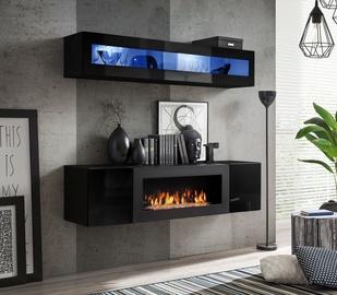 ASM Fly N2 Living Room Wall Unit Set Black