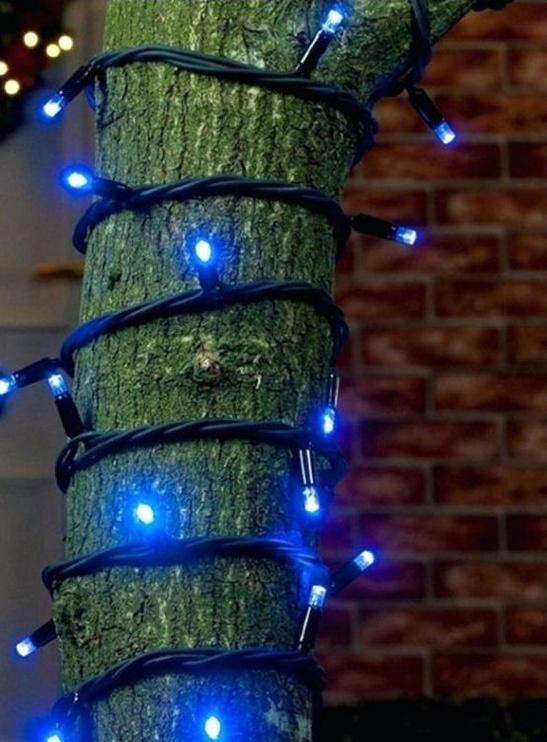 Jõulutuled Niveda Outdoor LED 100 White + Warm White Flashing