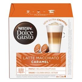 Nescafe Dolce Gusto Latte Macchiato Caramel Coffee Capsules 16pcs
