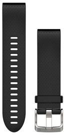 Garmin Fenix 5S 20mm QuickFit Silicone Black