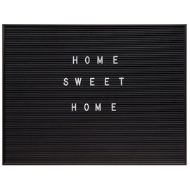 4Living Text Board 60x45cm Black