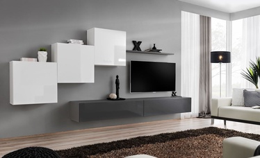 ASM Switch X Wall Unit White/Graphite