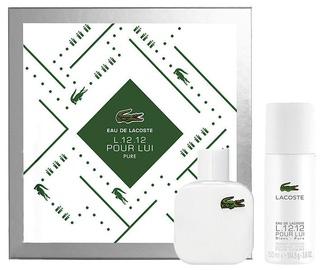 Lacoste Eau de Lacoste L.12.12 Blanc 50ml EDT + 150ml Deodorant Spray 2019