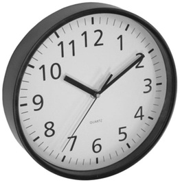 Asi Collection Wall Clock 25.5cm Black