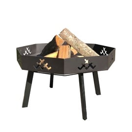 Fire Bowl With LV Signs GR024