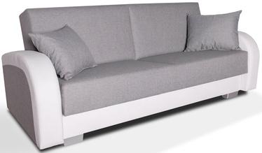 Диван-кровать Platan Magda White/Grey, 220 x 85 x 90 см